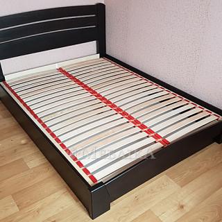 """Ліжко Естелла """"Селена-Аурі"""" (щит) з підйомним механізмом, венге"""