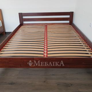 Деревянная кровать Рената - темний горіх