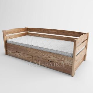 Ліжко диванчик аналог ноти плюс з ясеня