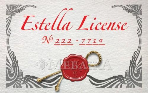 Лицензия от Эстелла для сайта Меблика