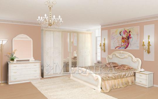 Розкішний і захопливий спальний комплект Опера