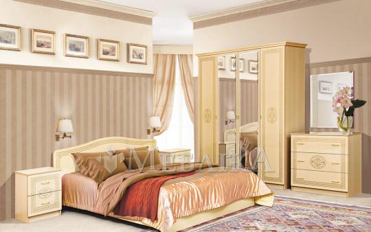 Граційний і пишний спальний гарнітур Флоренція