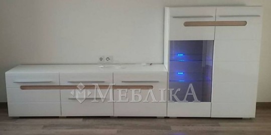 Модульна система Б'янко для вітальні різні модифікації