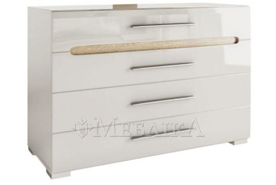 Білий комод Б'янко у високій і широкій варіації