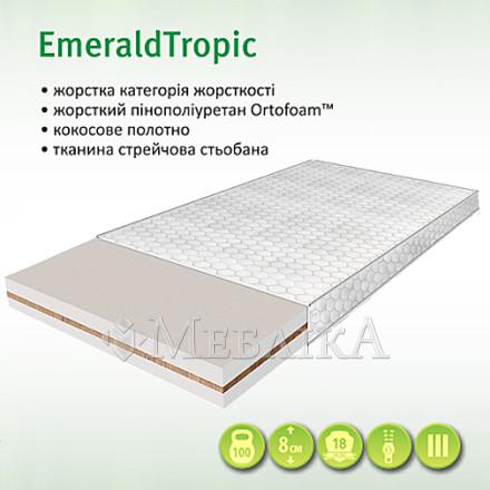 Emerald Tropik - ортопедичний топпер середнього рівня жорсткості