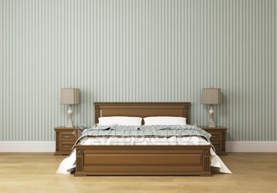 Двоспальне ліжко Франческа – виконана з дерева класика