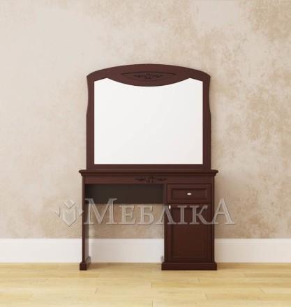 Дерев'яна рама з дзеркалом Грація – два розмірні варіанти