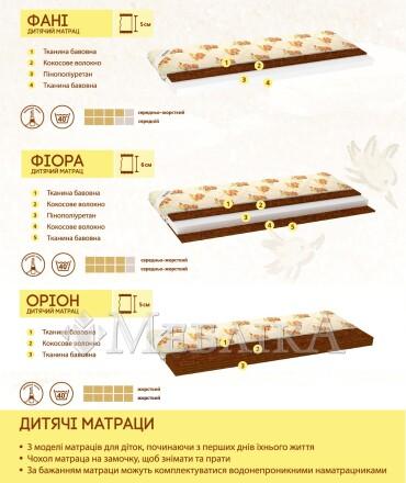 Кокосовий ортопедичний матрац Оріон
