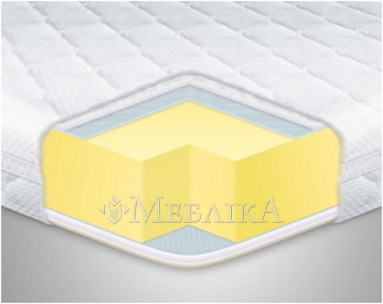 Трикотажний топер MEMORY х4/меморі х4 – тонкий матрац для дивана