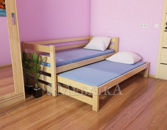 Дитяче ліжко Соня з додатковим висувним місцем