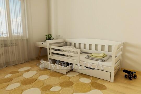 Підліткове ліжко Тедді з натурального бука