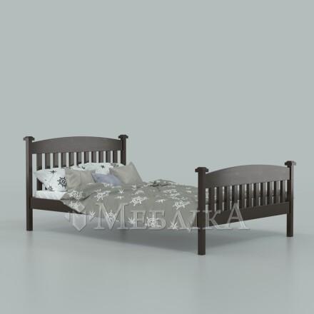 Букове дитяче ліжко Фібі з контейнерами для білизни