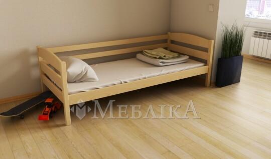 Букове дитяче ліжко Хюго – багато додаткових опцій