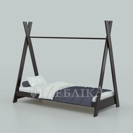 Ліжко у стилі вігваму Індіано – масив бука