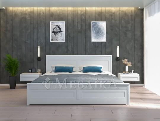 Дерев'яне ліжко двоспальне у стилі Прованс