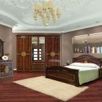 Функціональний спальний гарнітур Діана в античному стилі