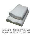 Ортопедична подушка ергономічної форми Ergolight