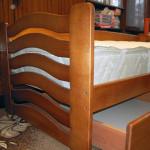 Компактне дитяче ліжко «Міккі Маус»