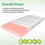 Ортопедичний наматрацник Emerald Dream середньої жорсткості