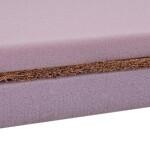 Топер різної жорсткості COCOS-MIX/кокос-мікс зі зйомним трикотажним чохлом
