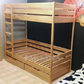 Дитяче двоярусне букове ліжко Дует тм Естелла