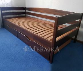 Дерев'яне ліжко Нота Плюс для підлітків