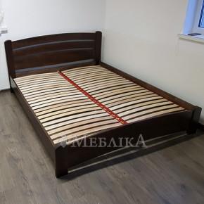 Деревянная двуспальная кровать из бука Венеция Люкс