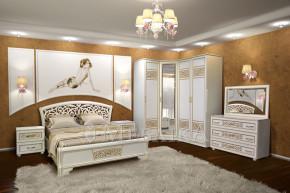 Кутовий спальний комплект Поліна нова з різними варіаціями складових