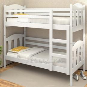 Двоярусне ліжко з дерева Сонька