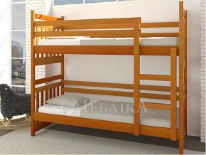 Двох'ярусне ліжко з масиву бука Джері