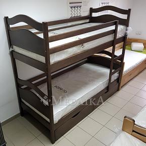 Розкладне двоярусне ліжко Вінні Пух