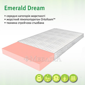 Ортопедический наматрасник Emerald Dream средней жесткости