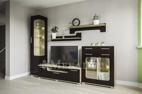 Глянцеві меблі для вітальні Вінкс у модерній стилістиці