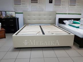 Стильне ліжко Ізабель з підйомним механізмом і високим узголів'ям