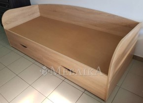Односпальне ліжко Соня-3 з шухлядами та трьома спинками