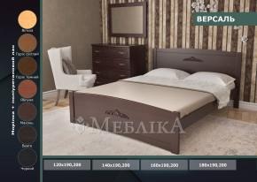 Дерев'яне двоспальне ліжко Версаль із сосни чи вільхи