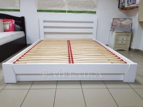 Двоспальне букове ліжко Селена з підіймальним механізмом