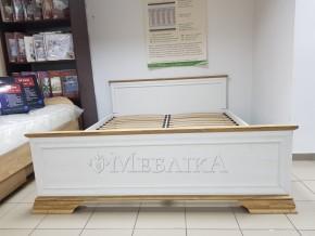 Двоспальне ліжко з ортопедичними ламелями 160х200 см Іріс з ламінованої ДСП
