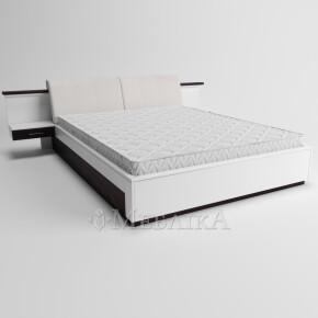Модерне дерев'яне ліжко Делайт з вбудованими тумбами