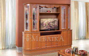 Місткі меблі для вітальні Цезар 2 з нішею для ТВ