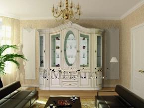 Практичні меблі для вітальні з ефектом патини Цезар 3