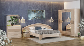 Ліжко Емма з прикріпленими до спинки тумбами