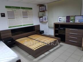 Фешенебельне ліжко Паула з вбудованими тумбами