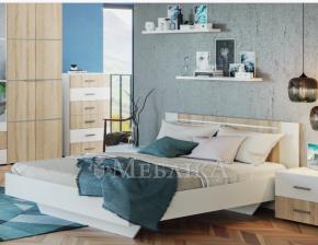 Неординарне ліжко Круїз на невагомих ніжках