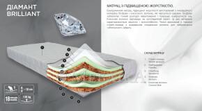 Безпружинний матрац Діамант підвищеної жорсткості