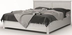 Класичне біле двоспальне ліжко Ешлі з ДСП