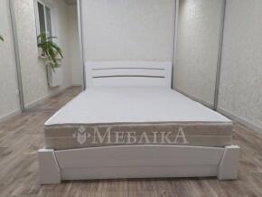 Функціональне дерев'яне ліжко з нішею Селена Аурі