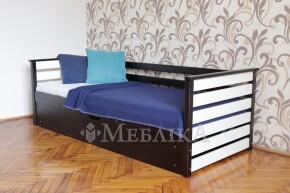 Односпальне ліжко Телесик з боковинками та підйомним механізмом