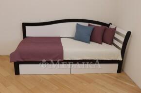 Односпальне ліжко Софі з високою спинкою та шухлядами