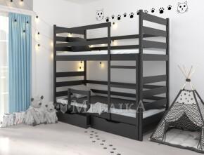 Практичне двоярусне ліжко-трансформер Амелі з екологічної деревини